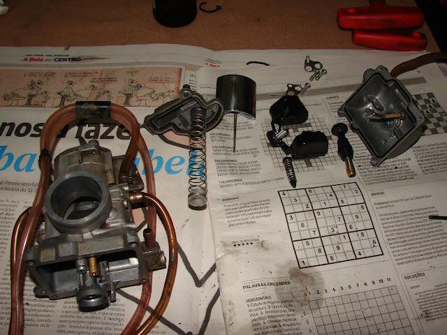 Ktm 250 -revisao 200 horas / kit 300 DSC00254