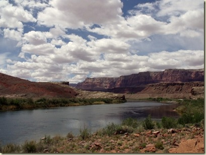 06 Colorado River downstream, Lee's Ferry launch AZ (800x600)