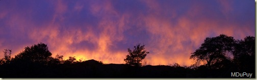 02 Fri Sunset Yarnell AZ pano by Mike (1024x315)