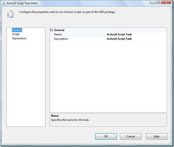 2 SSIS ActiveX Script Task