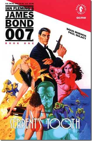 James Bond 007 - Serpent's Tooth - Book 1