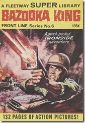 Fleetway Super Library - Frontline Series No.6 - Top Sergeant Ironside - Bazooka King