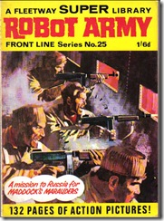 Fleetway Super Library - Frontline Series No.25 - Maddock's Marauders - Robot Army