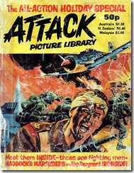 Attack Picture Library - Holiday Special (1982) - Front Cover