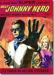 Fleetway Super Library - Secret Agent Series No.1 - Meet Johnny Nero - Cover