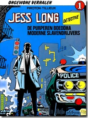 Jess Long#1 (1985) - Cover