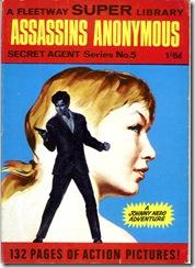 Fleetway Super Library - Secret Agent Series No. 05 - Assasins Anonymous