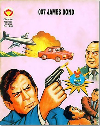 Diamond Comics # DE-1263 - 007 James Bond - For Your Eyes Only