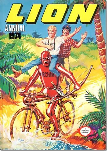 Lion Annual 1974