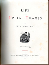 Life on the Upper Thames T Page