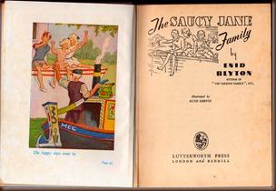 Saucy Jane Family 1947.