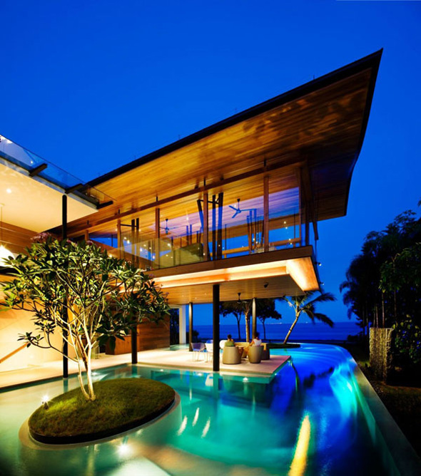 luxury exotic village residence in singapore