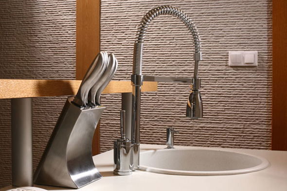 cool stainless sink furniture design ideas