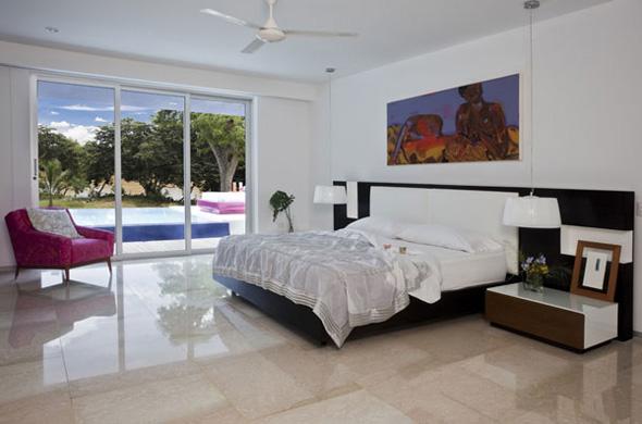 modern white master bedroom design ideas