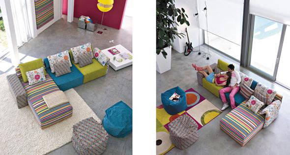 minimalist colorful interior decoration design ideas