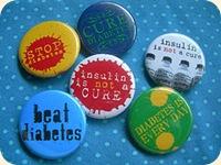 diabetes buttons