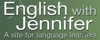 JenniferESL - Un buen canal en Youtube para aprender inglés