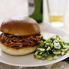 Barbecue Turkey Sandwiches with Celery Salad