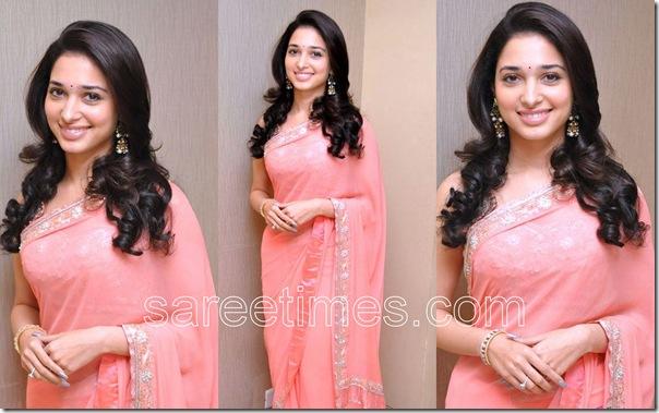 Tamanna-Pink-Designer-Sari