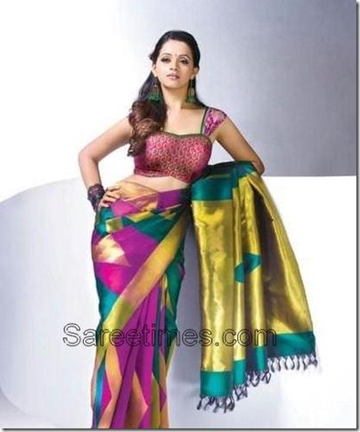 Bhavana_Printed_Saree