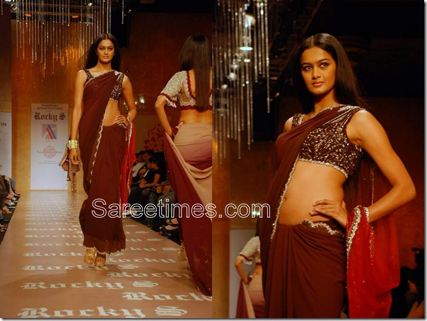 Rocky_S_Brown_Desogner_Saree
