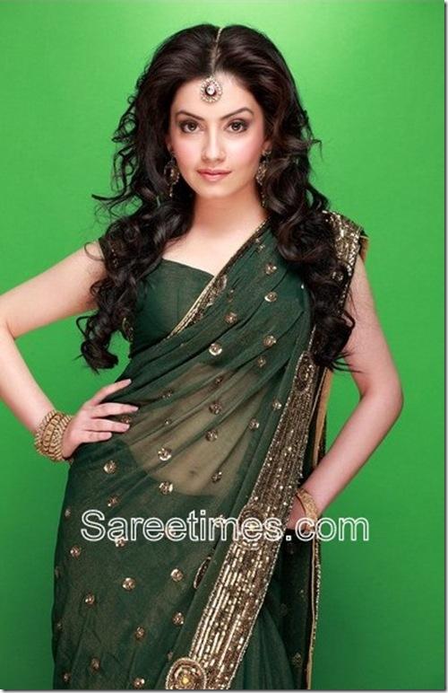 Sambhavi_Green_Designer_Saree