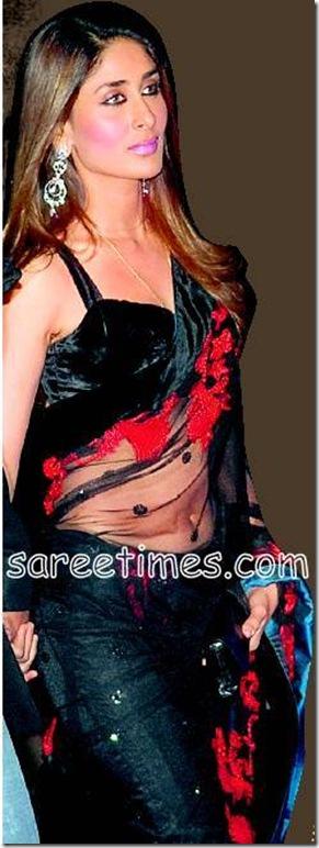 Kareena-Kapoor-Black-saree