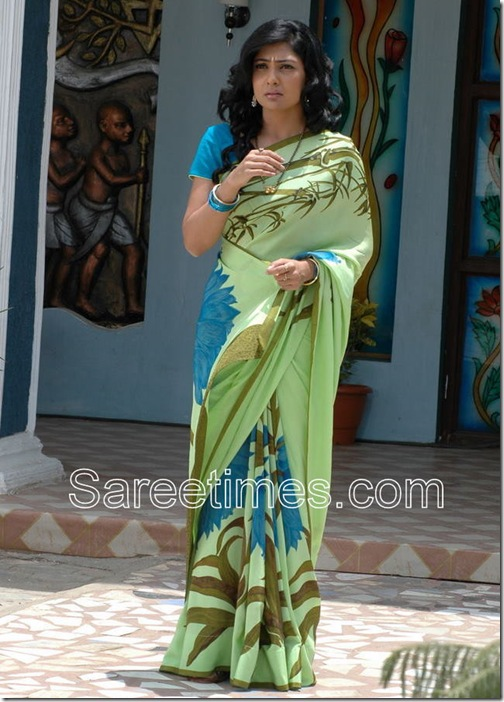 Kamalini Mukharj_Printed_Saree