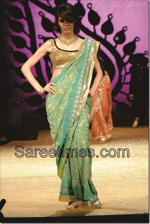 Green_Saree