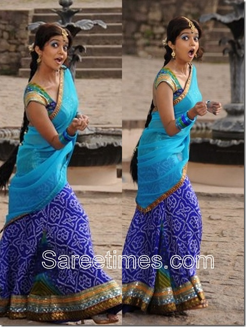 Swathi_Blue_Half_Saree