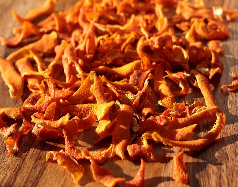 aroma de portocale deshidratate