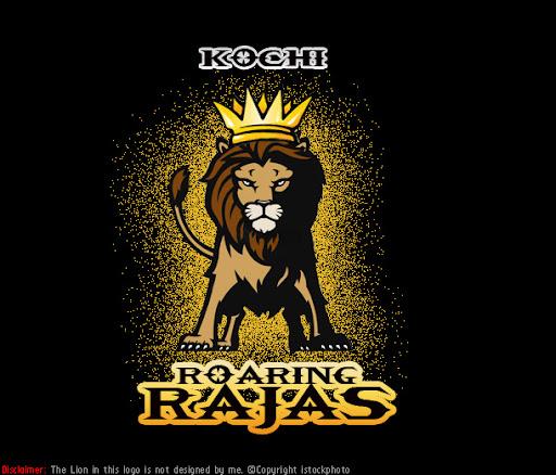 Kochi Roaring Rajas - Kochi IPL Logo Concept No.5