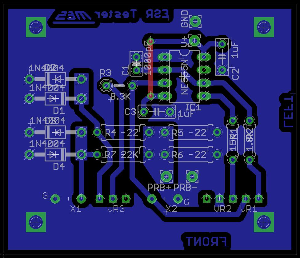 Bot Thoughts Eagle Tips Jumper Wires Printed Circuit Board Design Vertical Between V Input And 555 Timer Ics Vcc Pin