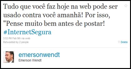 Twitter - Postagem
