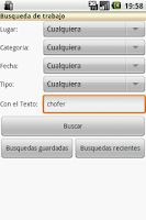 Screenshot of Bolsa de trabajo - Sternet