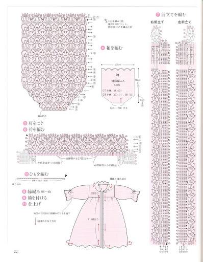 ملابس اطفال كروشيه & الباترون