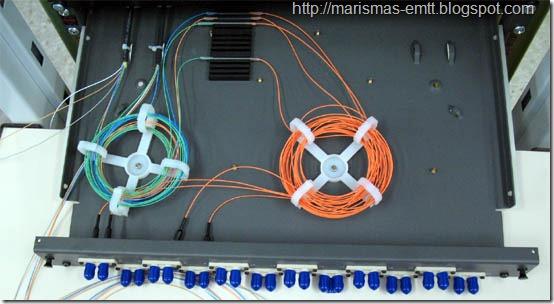 Bandeja fibra óptica