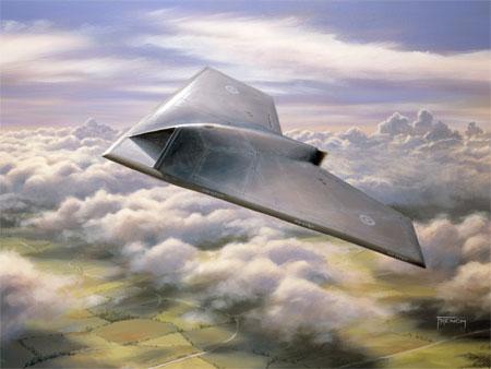 """Taranis"" el avión invisible Taranis-UCAV"