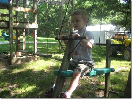 Austin swinging