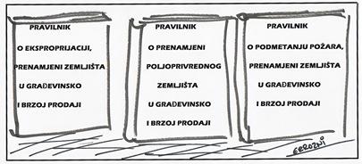 Karikatura_Pravilnici_o_gradjevinskomZemljistuED