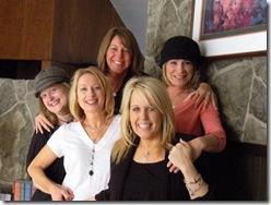 Jen, Kathy, Kim, Lori, Brenda