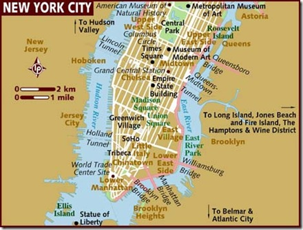 NYC - Map
