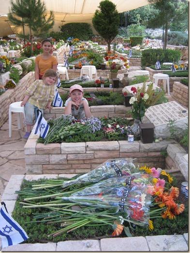 Mt. Herzl cemetery