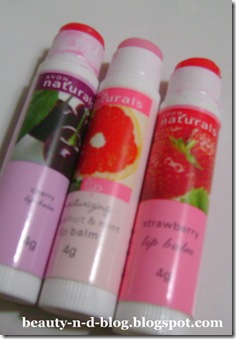 Lip Balm Obsession Avon Naturals