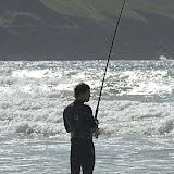 Fishing North Cornwall coast
