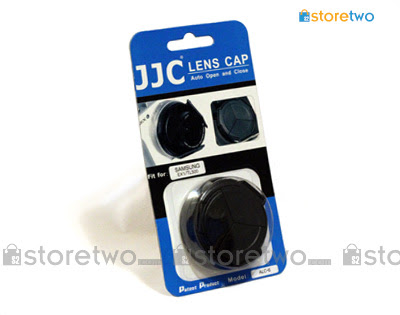Self-retaining Auto Lens Cap for Samsung TL500 / EX1