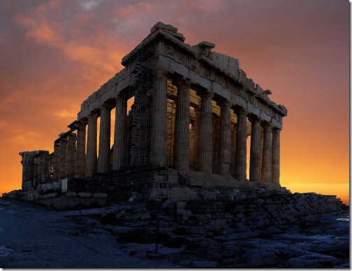 Acropolis-at-sunrise