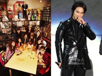 SNSD เลือก Song Seung Hun เป็นผู้ชายในอุดมคติ