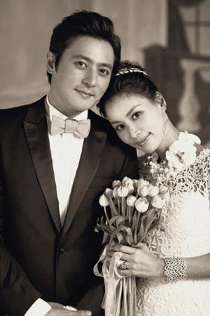 ภาพถ่ายชุดแต่งงานของ Jang Dong Gun กับ Ko So Young