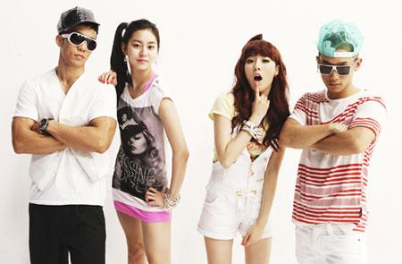 HyunA และ UEE จะร่วมแสดงใน MV ของ Mighty Mouth